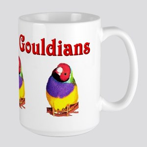 Gouldian Finch Large Mug