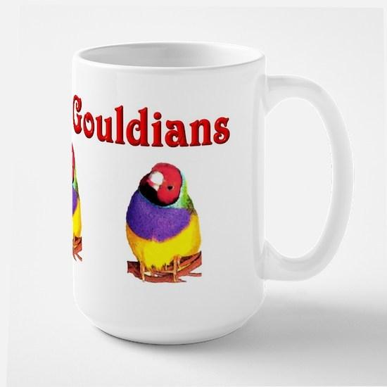 Gouldian Finch Large Mug