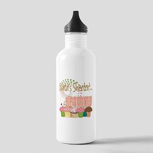 World's Sweetest Grammy Stainless Water Bottle 1.0