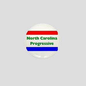 North Carolina Progressive Mini Button