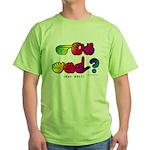 Got ASL? Rainbow SQ CC Green T-Shirt