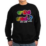 Got ASL? Rainbow SQ CC Sweatshirt (dark)