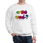Got ASL? Rainbow SQ CC Sweatshirt