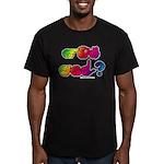 Got ASL? Rainbow SQ Men's Fitted T-Shirt (dark)