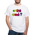 Got ASL? Rainbow SQ White T-Shirt