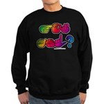 Got ASL? Rainbow SQ Sweatshirt (dark)