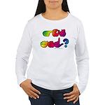 Got ASL? Rainbow SQ Women's Long Sleeve T-Shirt