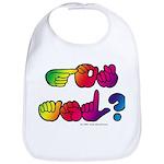 Got ASL? Rainbow SQ Bib
