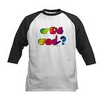 Got ASL? Rainbow SQ Kids Baseball Jersey