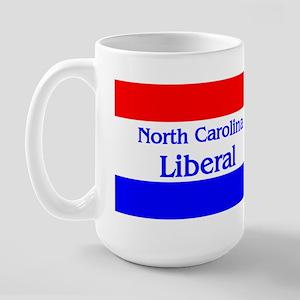 North Carolina Liberal Large Mug