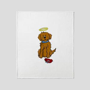 Doggie Angel! Throw Blanket