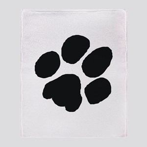 Pawprint Throw Blanket