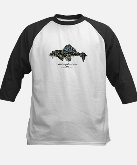 Hypostomus plecostomus Kids Baseball Jersey