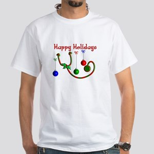 Nurse Christmas White T-Shirt
