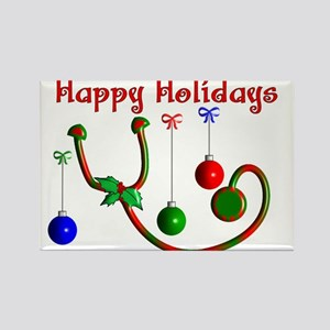 Nurse Christmas Rectangle Magnet