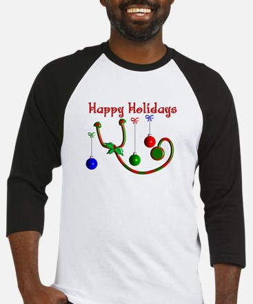 Nurse Christmas Baseball Jersey