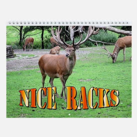 Nice Racks Wall Calendar Deer Elk Amp