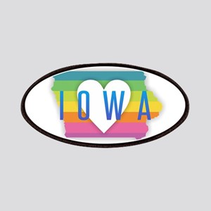 Iowa Heart Rainbow Patch