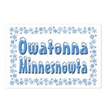 Owatonna Minnesnowta Postcards (Package of 8)
