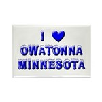 I Love Owatonna Rectangle Magnet