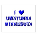 I Love Owatonna Small Poster