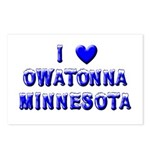 I Love Owatonna Postcards (Package of 8)