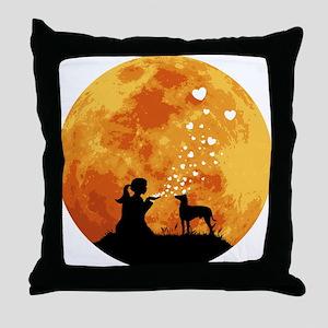 Manchester Terrier Throw Pillow