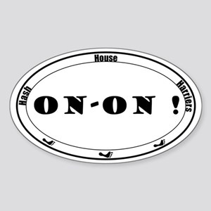 On-On Sticker (Oval)