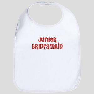 Heart Jr. Bridesmaid Bib