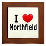 I Love Northfield Framed Tile
