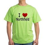 I Love Northfield Green T-Shirt