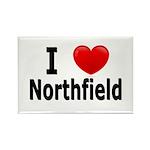 I Love Northfield Rectangle Magnet (100 pack)