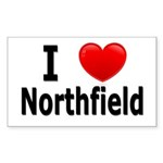 I Love Northfield Sticker (Rectangle)