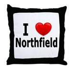 I Love Northfield Throw Pillow