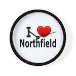 I Love Northfield Wall Clock