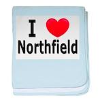 I Love Northfield baby blanket
