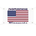 Northfield US Flag Banner