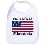 Northfield US Flag Bib