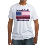 Northfield US Flag Fitted T-Shirt