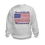 Northfield US Flag Kids Sweatshirt