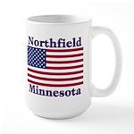 Northfield US Flag Large Mug