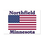 Northfield US Flag Mini Poster Print