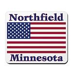 Northfield US Flag Mousepad