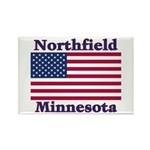 Northfield US Flag Rectangle Magnet