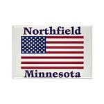 Northfield US Flag Rectangle Magnet (10 pack)