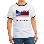 Northfield US Flag Ringer T