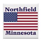 Northfield US Flag Tile Coaster