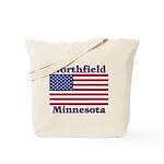 Northfield US Flag Tote Bag