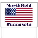 Northfield US Flag Yard Sign