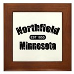 Northfield Established 1855 Framed Tile